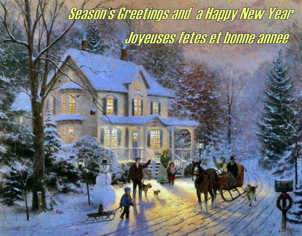 Season's Greetings and a Happy New Year From Brampton Caledon Community Living